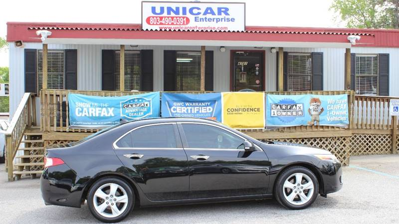 2009 ACURA TSX BASE black sharpe looking black 2009 acura tsx  with tan interior  price includes