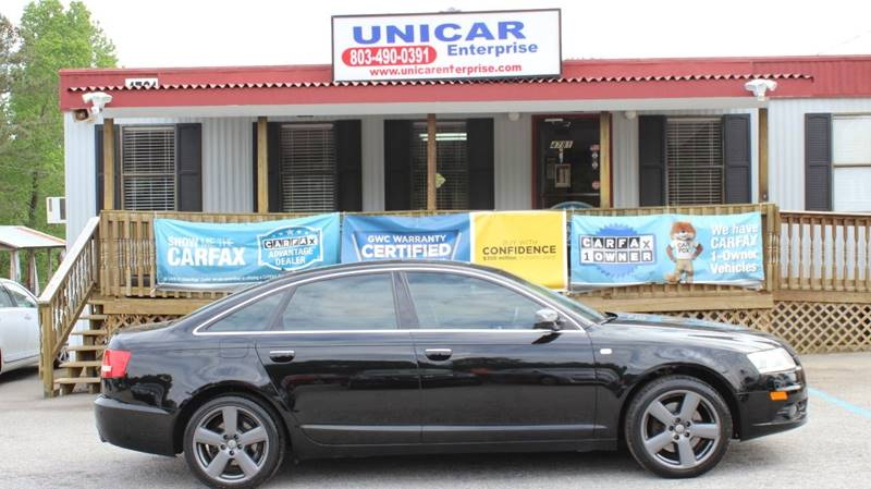 2008 AUDI A6 32 QUATTRO AWD 4DR SEDAN black this is a must see 2008 black audi a6 with black lea