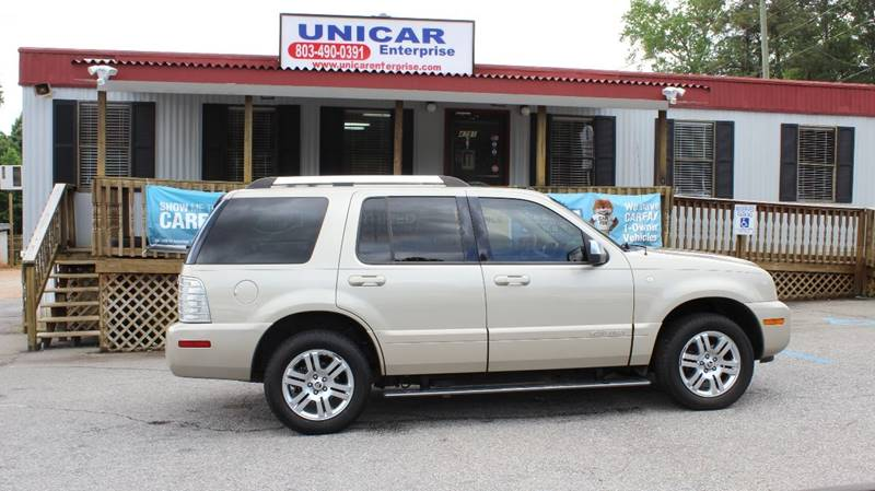 2007 MERCURY MOUNTAINEER PREMIER AWD 4DR SUV V8 gold clean 2007 gold mercury mounteenier with bei