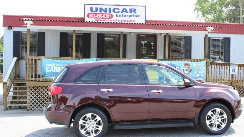 2008 ACURA MDX SH-AWD 4DR SUV burgundy looking for a suv  this is a must see  2008 burgundy acu