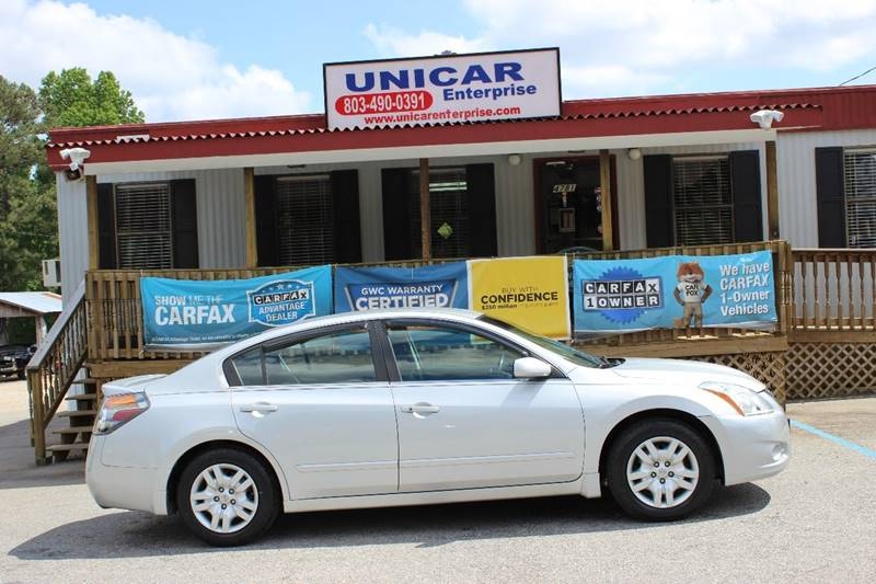 2012 NISSAN ALTIMA 25 4DR SEDAN silver this 2012 nissan altima  is priced below nada and ready t