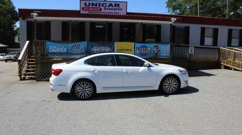 2014 KIA CADENZA PREMIUM 4DR SEDAN white if you are in the market for all the bells and whistles