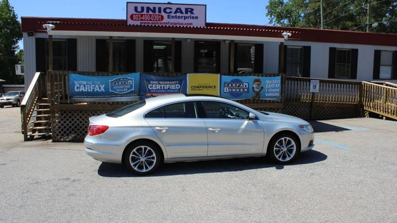 2009 VOLKSWAGEN CC LUXURY 4DR SEDAN silver super clean 2009 silver volkswagen cc luxury with two