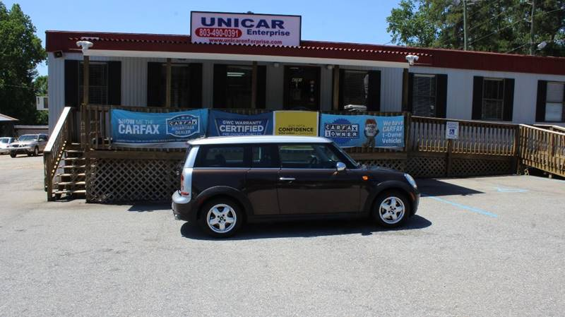 2009 MINI COOPER CLUBMAN BASE 3DR WAGON brown this 2009 mini cooper clubman is priced to be yours