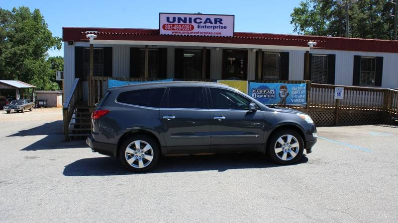 2009 CHEVROLET TRAVERSE LTZ 4DR SUV gray check out this fully loaded 2009 chevrolet traverse ltz