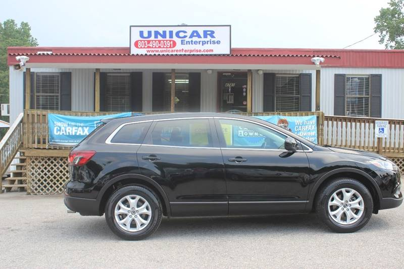2013 MAZDA CX-9 TOURING 4DR SUV black thisis is a must see 2013 mazda cx-9 with black leather int