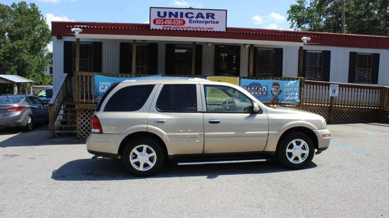 2007 BUICK RAINIER CXL 4DR SUV gold looking for a suv  this 2007 buick rainier with tan leather