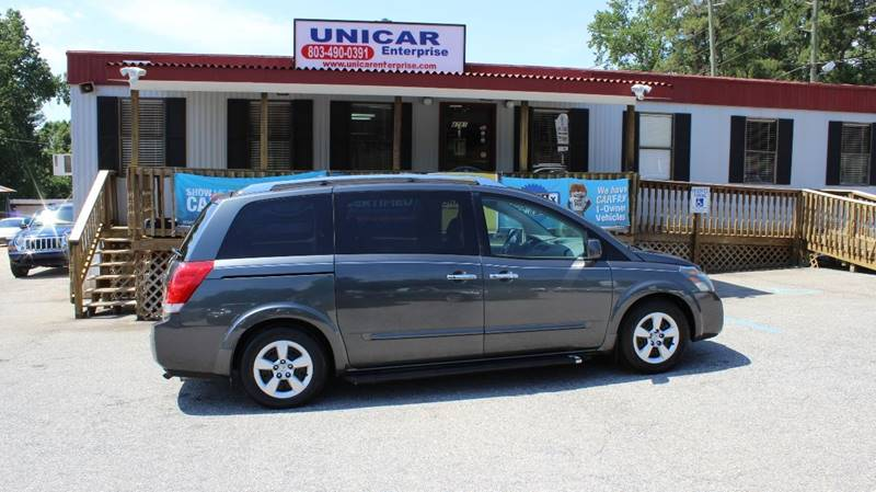 2008 NISSAN QUEST 35 S 4DR MINI VAN gray in the market for a van  this 2008 nissan quest is wha
