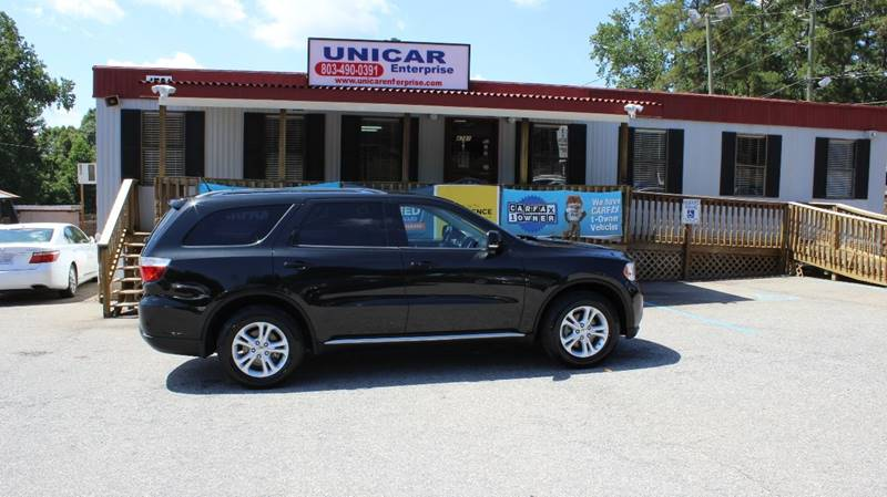 2012 DODGE DURANGO CREW AWD 4DR SUV black looking for a sharp suv  this is the vehicle for you