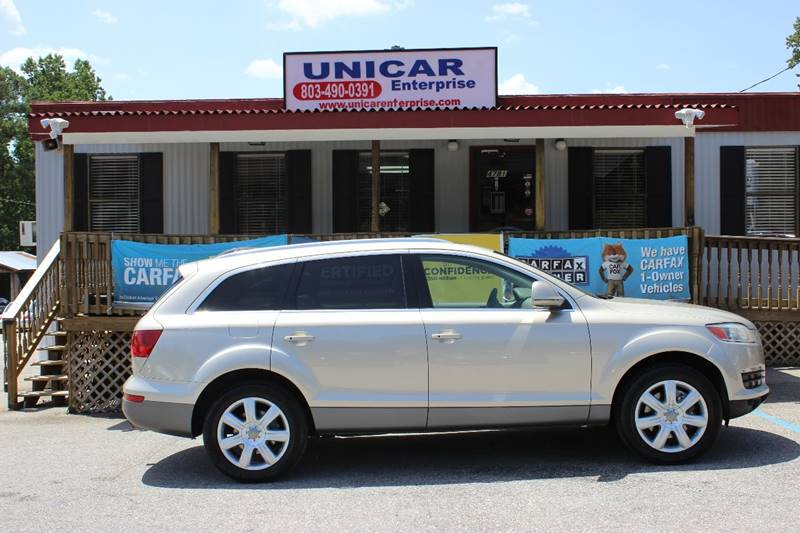 2007 AUDI Q7 42 PREMIUM QUATTRO AWD 4DR SUV gold this is a deal you cant pass up  this loaded