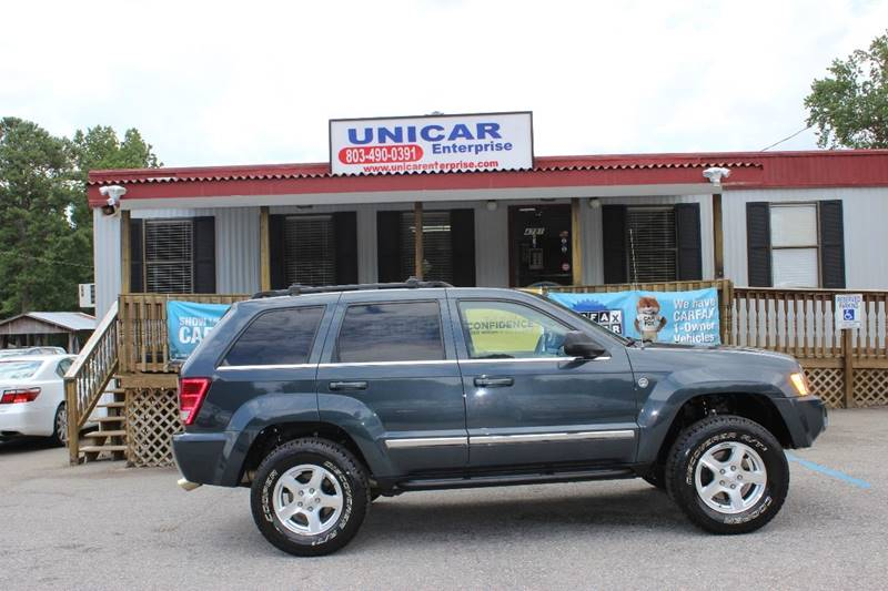 2007 JEEP GRAND CHEROKEE LIMITED 4X4 4DR CROSSOVER blue this is a must see 4 x 4 jeep grand cherok