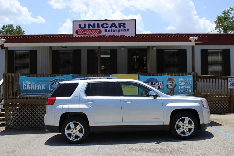 2013 GMC TERRAIN SLT-2 4DR SUV silver if you are looking for a smaller suv this is the one for yo