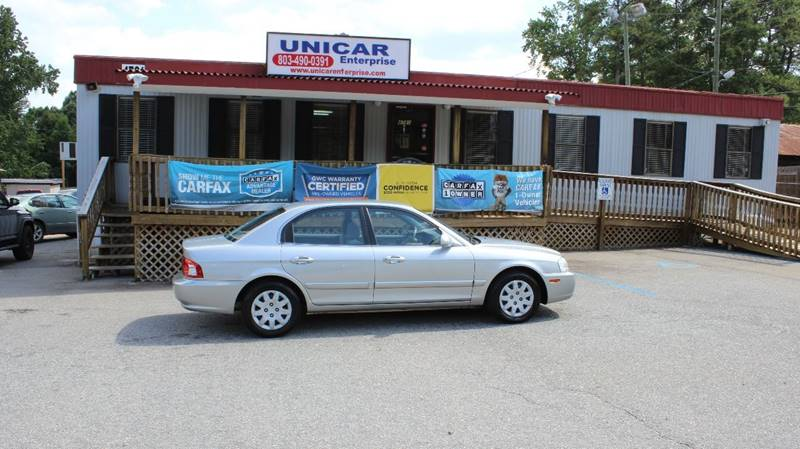 2005 KIA OPTIMA LX 4DR SEDAN silver check out this clean 2005 kia optima with only 93205 miles