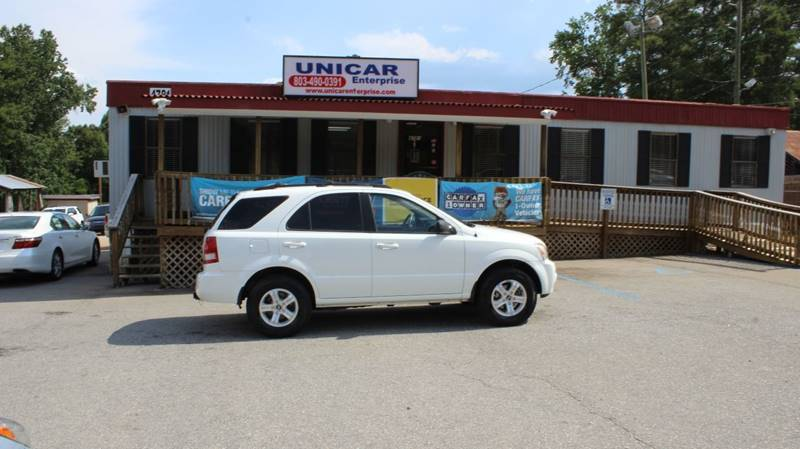 2005 KIA SORENTO EX 4WD 4DR SUV white check out this clean 2005 kia sorento with only 92841 mile