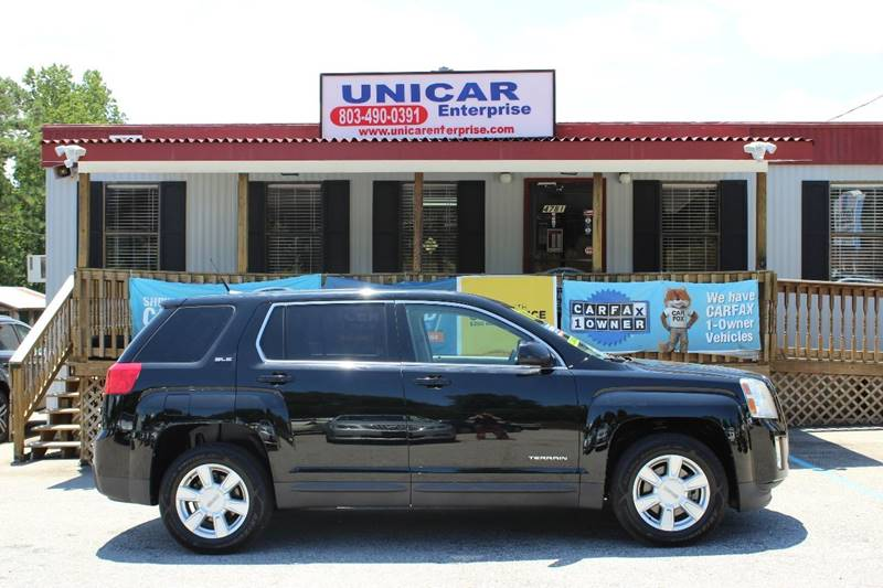 2011 GMC TERRAIN SLE-1 4DR SUV black in the market for a small suv  check out this black 2011 gm
