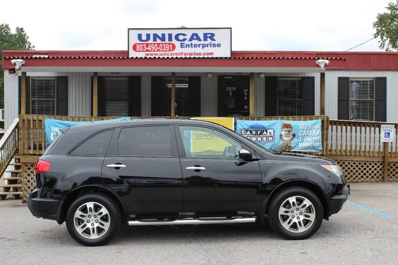 2008 ACURA MDX SH-AWD 4DR SUV black deal of the day this 2008 acura mdx  awd is priced to sell f