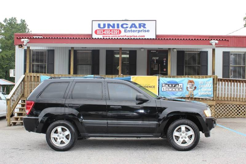 2006 JEEP GRAND CHEROKEE LAREDO 4DR SUV black extra clean black 2006 jeep grand cherokee laredo w