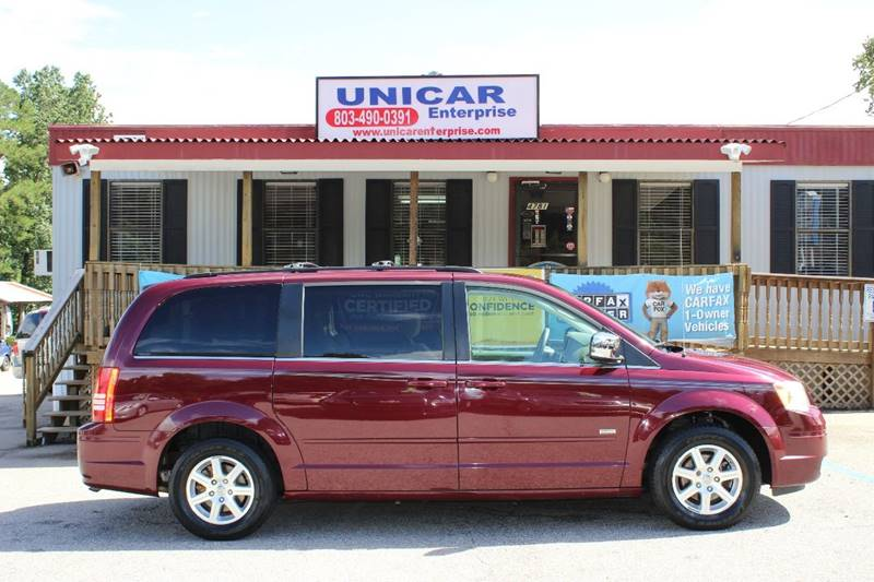 2008 CHRYSLER TOWN AND COUNTRY TOURING 4DR MINI VAN burgundy searching for a van  come by and tak
