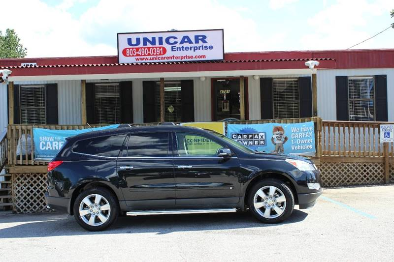 2010 CHEVROLET TRAVERSE LTZ 4DR SUV black take advantage of everyday low pricing with no addition