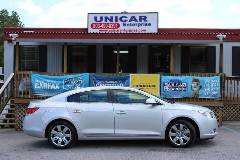 2011 BUICK LACROSSE CXL AWD 4DR SEDAN silver fully loaded harmon kardon sound system take a loo
