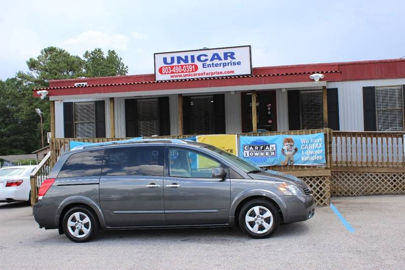 2008 NISSAN QUEST 35 S 4DR MINI VAN gray this 2008 gray nissan quest is ready for your family