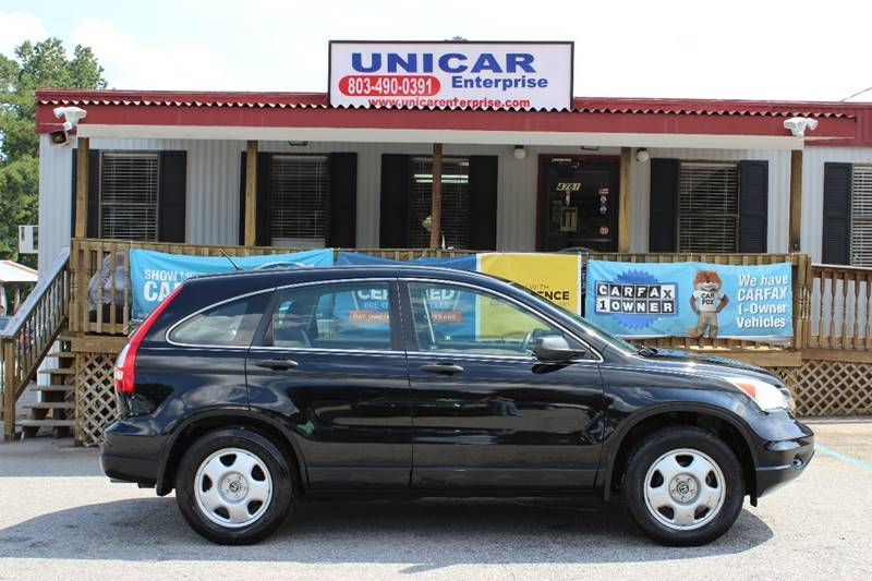 2010 HONDA CR-V LX 4DR SUV black this 2010 honda cr-v just arrived and is  ready to be  taken hom