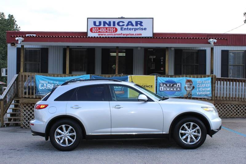2008 INFINITI FX35 BASE 4DR SUV silver this loaded 2008 infiniti fx35 is a one owner vehicle it
