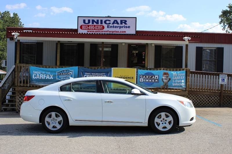 2010 BUICK LACROSSE CX 4DR SEDAN white new arrival this 2010 buick lacrosse cx will not be here