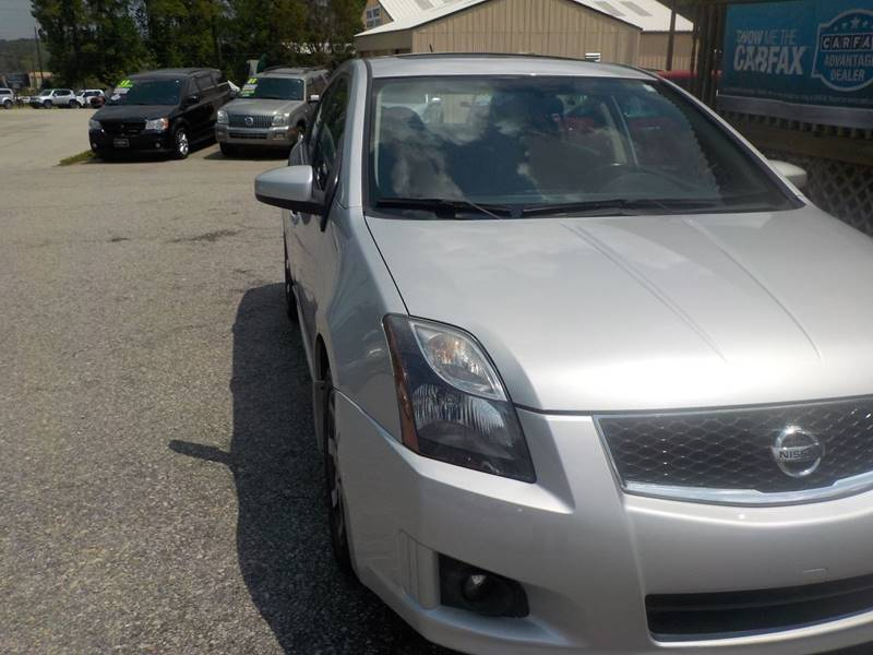 2012 Nissan Sentra 2.0 SR 4dr Sedan - Lexington SC