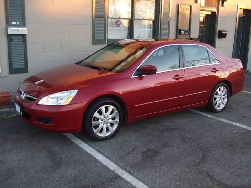 2007 Honda Accord EX L V 6 4dr Sedan (3L V6 5A)