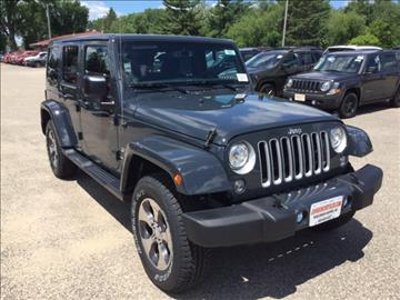 2017 Jeep Wrangler Unlimited for sale in Wisconsin Rapids, WI