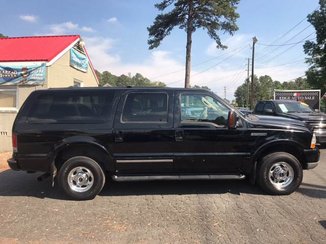 2004 Ford Excursion for sale at Edge Auto Sale in Sanford NC