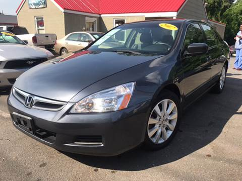 2007 Honda Accord for sale at Edge Auto Sale Inc. in Sanford NC
