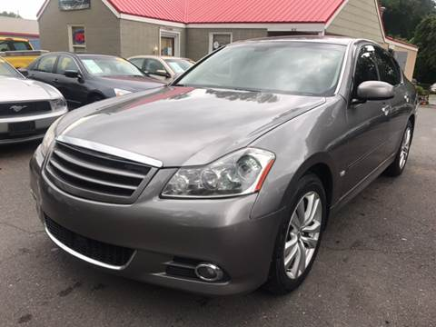 2009 Infiniti M35 for sale at Edge Auto Sale Inc. in Sanford NC