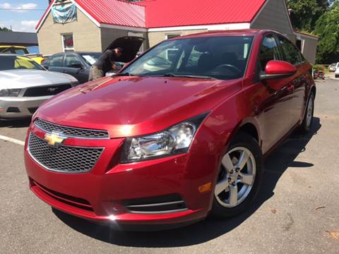 2012 Chevrolet Cruze for sale at Edge Auto Sale in Sanford NC