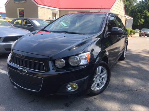 2013 Chevrolet Sonic for sale at Edge Auto Sale Inc. in Sanford NC
