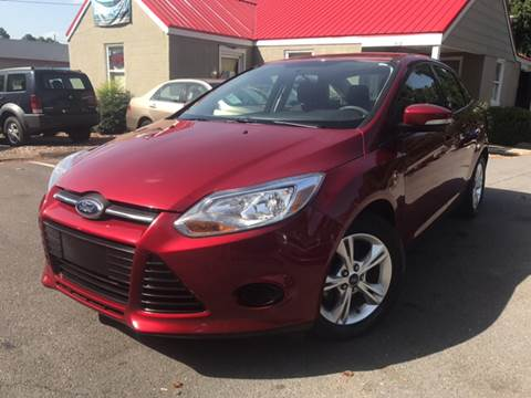 2013 Ford Focus for sale at Edge Auto Sale in Sanford NC