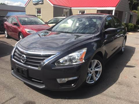 2013 Nissan Altima for sale at Edge Auto Sale Inc. in Sanford NC