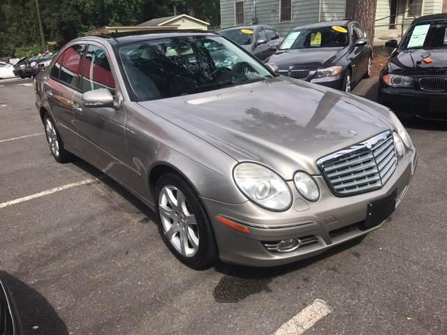 2007 Mercedes-Benz E-Class for sale at Edge Auto Sale Inc. in Sanford NC