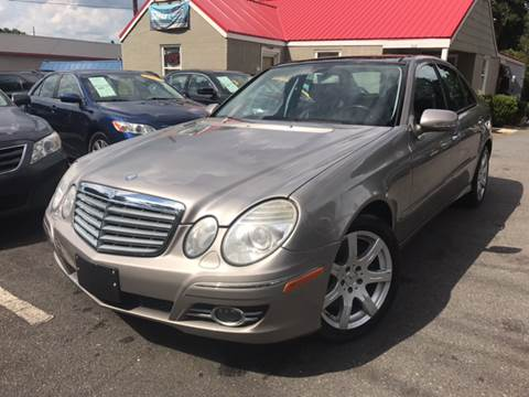 2007 Mercedes-Benz E-Class for sale at Edge Auto Sale Inc. in Sanford NC