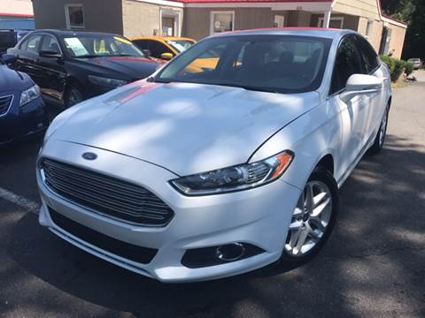2013 Ford Fusion for sale at Edge Auto Sale Inc. in Sanford NC