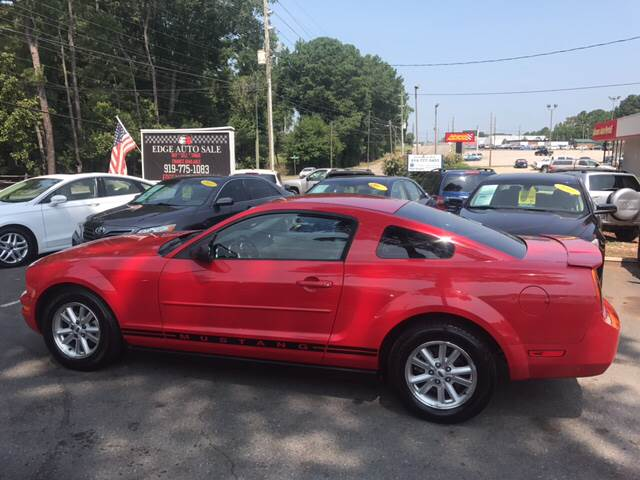 2007 Ford Mustang for sale at Edge Auto Sale Inc. in Sanford NC