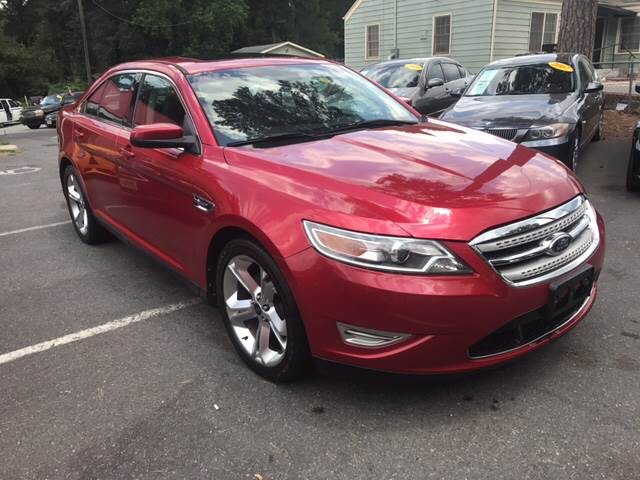 2010 Ford Taurus for sale at Edge Auto Sale Inc. in Sanford NC