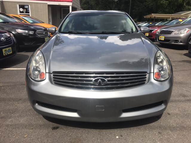2007 Infiniti G35 for sale at Edge Auto Sale Inc. in Sanford NC