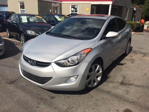 2012 Hyundai Elantra for sale at Edge Auto Sale Inc. in Sanford NC