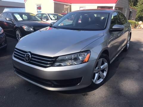 2012 Volkswagen Passat for sale at Edge Auto Sale Inc. in Sanford NC