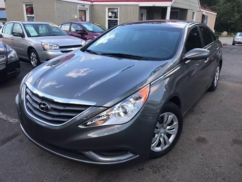 2013 Hyundai Sonata for sale at Edge Auto Sale Inc. in Sanford NC