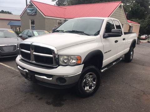 2005 Dodge Ram Pickup 2500 for sale at Edge Auto Sale Inc. in Sanford NC