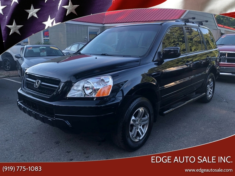 2005 Honda Pilot For Sale At Edge Auto Sale Inc. In Sanford NC