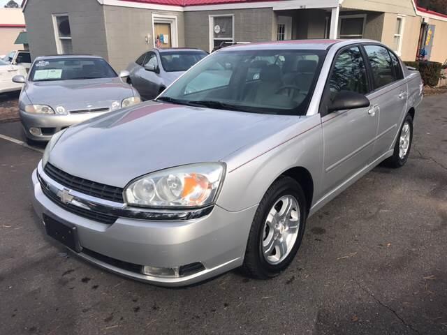 2005 Chevrolet Malibu for sale at Edge Auto Sale in Sanford NC